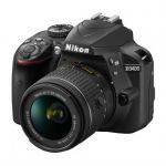 Зеркальный фотоаппарат Nikon D3400 Kit 18-55 VR AF-P Black