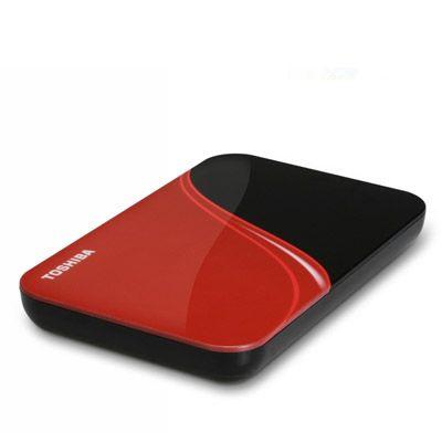 Внешний жесткий диск Toshiba StorE Art 500Gb Black/Red HDDR500E04ER_CS
