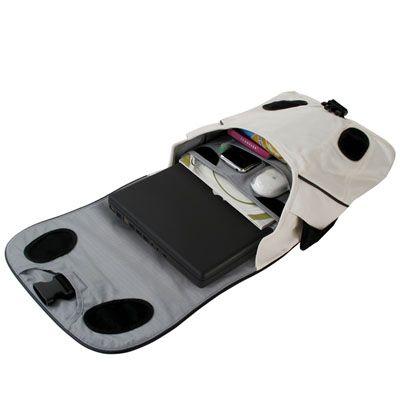 Сумка Crumpler Beef Pocket off white/black BEEPO-008