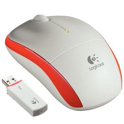 Мышь беспроводная Logitech M205 Orange 910-001097