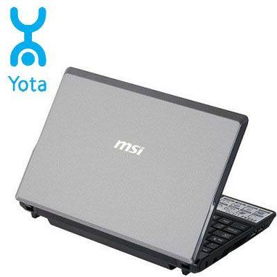 Ноутбук MSI Wind U120-024 Gray-Black