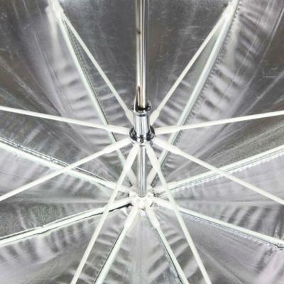 Lumifor Зонт на отражение LUSB-84 ULTRA, 84см, серебряный