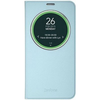 Чехол ASUS флип-кейс для Asus ZenFone ZE551ML Deluxe синий 90AC00F0-BCV013