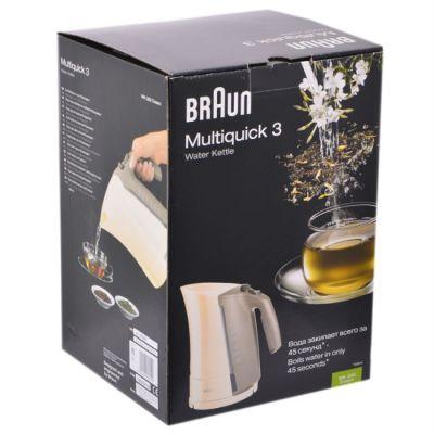 Электрический чайник Braun WK300 Cream 0338181