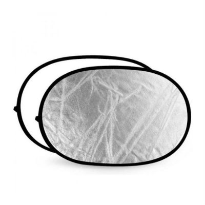 Отражатель FST 100х150 белый/серебро RD-021WS