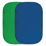 Фон Fujimi складной хромакей 150x200 синий/зеленый