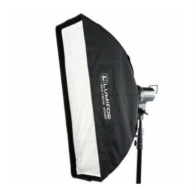 Lumifor Софтбокс LS-3090 ULTRA, стрипбокс 30х90см с адаптером Bowens