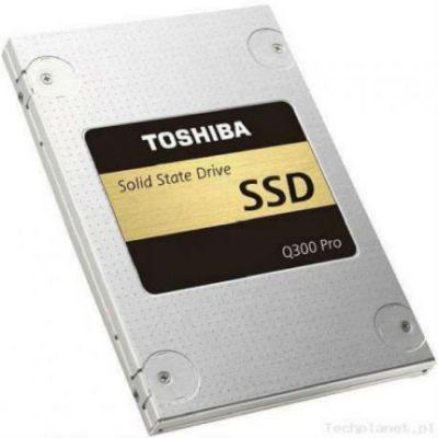"""Твердотельный накопитель Toshiba SATA III 256Gb Q300 Pro 2.5"""" HDTSA25EZSTA"""