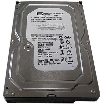 Жесткий диск Western Digital SATA-II 320Gb AV 3.5 7200rpm 8Mb WD3200AVJS
