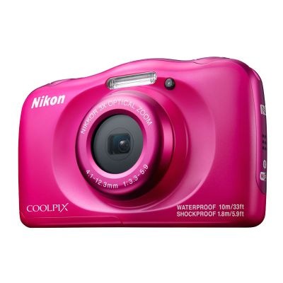 Компактный фотоаппарат Nikon Coolpix W100 Pink Backpack KIT VQA012K001