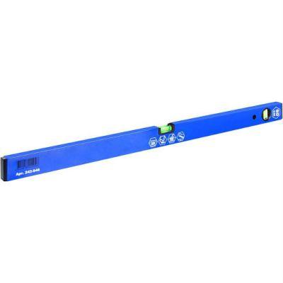 Уровень КОБАЛЬТ строительный Оптима, 800 мм, профиль 20 x 49 мм, 2 глазка, точность 1,0 мм/м 242-946