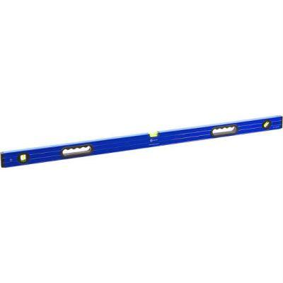 КОБАЛЬТ Уровень строительный Комфорт, 1200 мм, профиль 23 x 59 мм, 3 глазка, 2 ручки, точность 1,0 мм/м 243-110