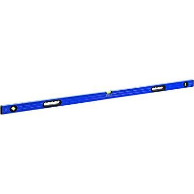Уровень КОБАЛЬТ строительный Комфорт, 1500 мм, профиль 23 x 59 мм, 3 глазка, 2 ручки, точность 1,0 мм/м 243-127
