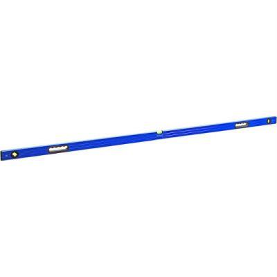 Уровень КОБАЛЬТ строительный Комфорт, 2000 мм, профиль 23 x 59 мм, 3 глазка, 2 ручки, точность 1,0 мм/м 243-134