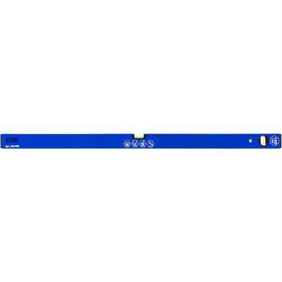 Уровень КОБАЛЬТ строительный Оптима, 1000 мм, профиль 20 x 49 мм, 2 глазка, точность 1,0 мм/м 242-953