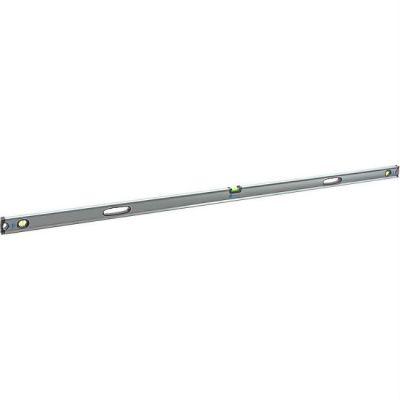Уровень КОБАЛЬТ строительный Экстра, 2000 мм, профиль 30 x 65 мм, 3 глазка, 2 ручки, V-паз, точность 0,5 мм/м 243-325