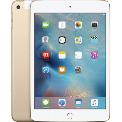 Планшет Apple iPad mini 4 Wi-Fi + Cellular 32GB (Gold) MNWG2RU/A