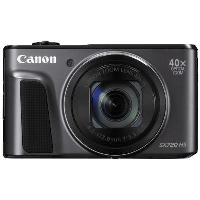 Компактный фотоаппарат Canon PowerShot SX720 HS (черный) 1070C002