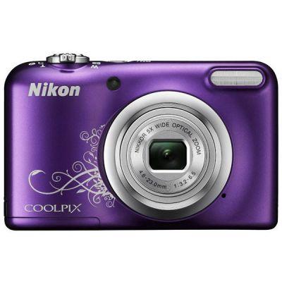 Компактный фотоаппарат Nikon A10 (фиолетовый с рисунком) A10/PurpleLineart