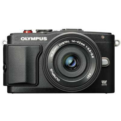Компактный фотоаппарат Olympus E-PL6 black + EZ-M1442 II R black incl. Charger + Battery