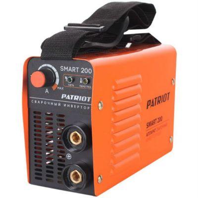 Аппарат Patriot сварочный SMART 200 MMA инвертор ММА DC 3.9кВт 605301840
