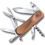 Складной нож Victorinox EvoWood 14, 85 мм, 12 функций, деревянная рукоять (2.3901.63)