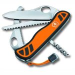 Складной нож Victorinox Hunter XS One Hand, 111 мм, с фиксатором, 5 функций, оранжево-черный (0.8331.MC9)