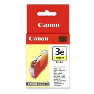 Картридж Canon BCI-3e Yellow/Желтый (4482A002)