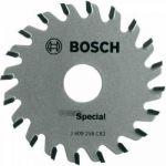 Диск Bosch пильный по дереву d=65мм d(посад.)=15мм 2609256C83