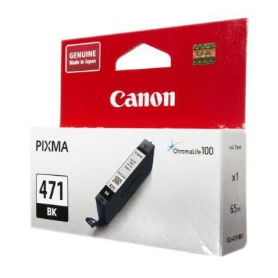 Картридж Canon CLI-471BK Black/Черный (0400C001)