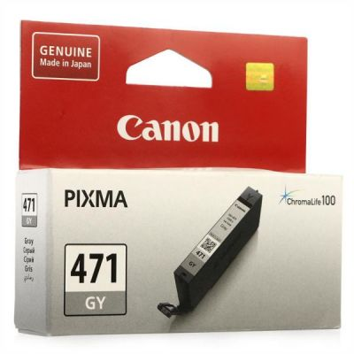 Картридж Canon CLI-471 GY Grey/Серый (0404C001)