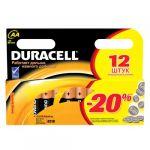 Батарейки Duracell LR6-12BL Basic AA 12шт