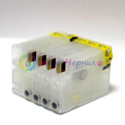 Картридж ApexMic перезаправляемый, набор, с чипами, с насадкой для прокачки картриджей