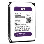 "Жесткий диск Western Digital Purple 8000ГБ 3,5"" 7200RPM 128MB (SATA-III) WD80PUZX"