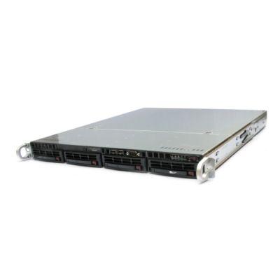 "Корпус Supermicro 1U 4x3.5"" HS HDD 600W CSE-813MTQ-600CB"