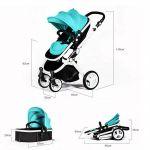 Детска коляска Babyruler ST-166 Бирюза