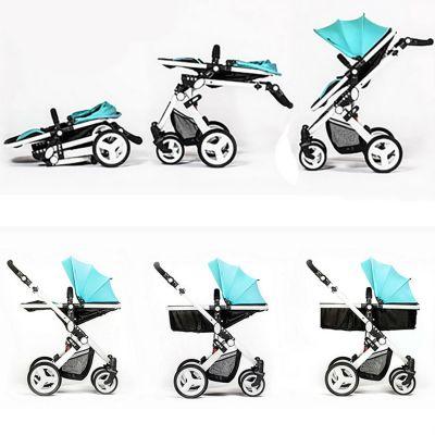 Babyruler Детская коляска цвет ST-166 Бирюза