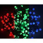 """Гирлянда """"Мультишарики"""", диаметр шариков 18мм, цвет RGB красный/зеленый/синий 303-549"""