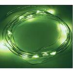 """Гирлянда """"Роса"""", 2 м, 20 диодов, цвет зеленый 303-008"""