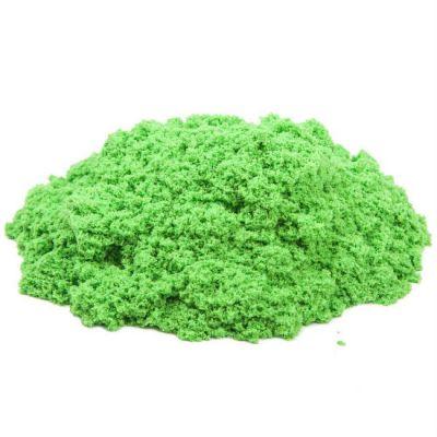 Космический песок пластичный, стандартный комплект зеленый 3 кг.