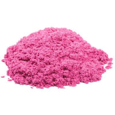 Космический песок пластичный, полный комплект (упак: 1 кг, розовый)