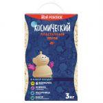 Космический песок пластичный, полный комплект (упак: 3 кг, голубой)