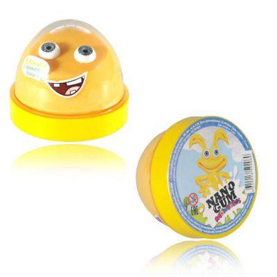 """Волшебный мир Жвачка для рук Nano gum """"Банни"""" с ароматом банана"""