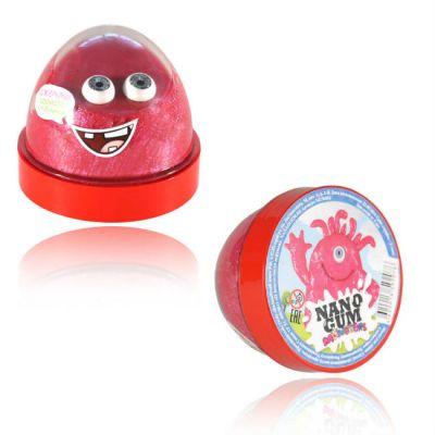 """Волшебный мир Жвачка для рук Nano gum """"Джемми"""" с ароматом клубники"""