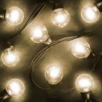 Гирлянда LED Galaxy Bulb String 10м, черный Каучук, Желтые,IP54 331-321