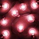 Гирлянда LED Galaxy Bulb String 10м, черный Каучук, Красные, IP54 331-322