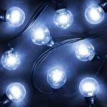 Гирлянда LED Galaxy Bulb String 10м, черный Каучук, Синие, IP54 331-323