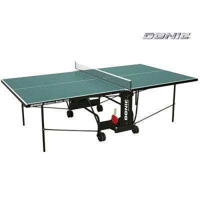 Теннисный стол Donic всепогодный Outdoor Roller 600 зеленый 230293-G
