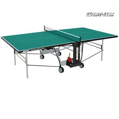 Теннисный стол Donic всепогодный Outdoor Roller 800 зеленый 230296-G