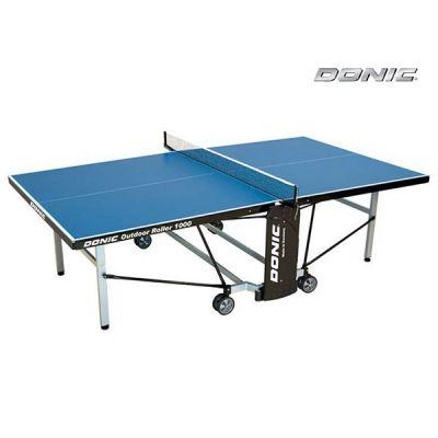Теннисный стол Donic всепогодный Outdoor Roller 1000 синий 230291-B